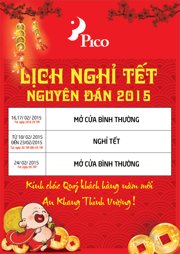 lich nghi tet 2015