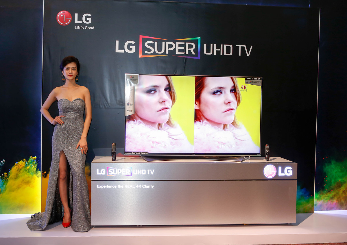 TV Super UHD 2015