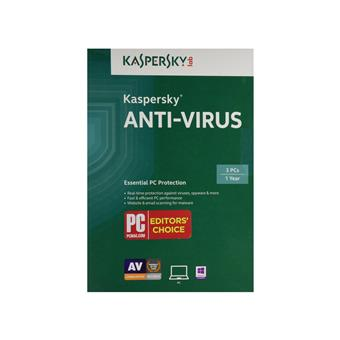 Phần mềm Kasperkey Anti Virus 3 user