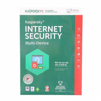 Phần mềm Kaspersky Internet Security KIS5U